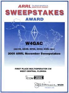 2005 Nov SS 1st Multi-OP CW WCF