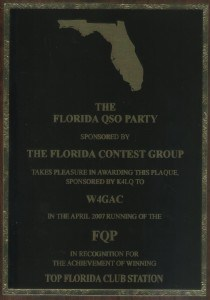 2007 FQP Top Florida Club Station