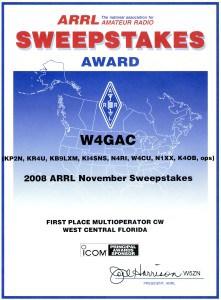 2008 Nov SS 1st Multi-Op CW WCF