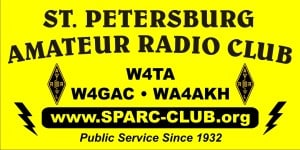 St Pete Amateur Radio Club Banner