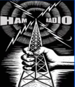 Ham Radio Tower & Sparks