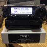 Yaesu FT-891 HF rig